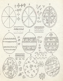 pysanky coloring pages downloads