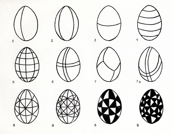ukraine eggs coloring pages - photo#48